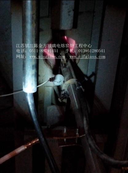 流液洞防堵电极