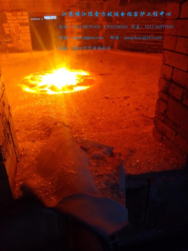 (直接通电加热)的竞博电竞官网电熔炉烤窑方法